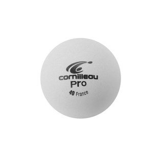CORNILLEAU Pro Bianco Palline da Ping Pong (Box da 6), Bianco