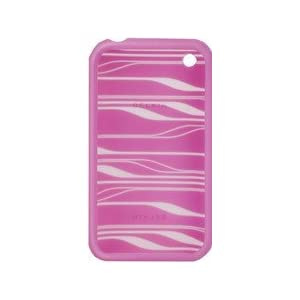 Belkin Silicone Sleeve Case for iPhone 3G, 3G S (Pink,White)
