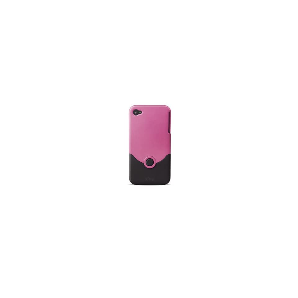 IFROGZ LUXE APPLE iPHONE 4 PINK HARD COVER CASE SHELL