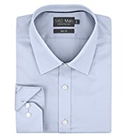 2in Longer Performance Pure Cotton Non-Iron Slim FitTwill Shirt