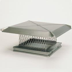 Chimney 13112 Gelco Stainless Steel Chimney Cap - 15 Inches x 15 Inches