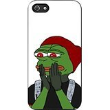 Blurryface Pepe Twenty One Pilots Case Cover / Color Nero Rubber / Device iPhone 5/5s