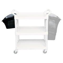 Rubbermaid Utility Bin for Utility Cart 15L Black - 3354-88-BLA
