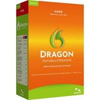 Nuance Dragon NaturallySpeaking Home Version 11 Speech Recognition Software with Microphone