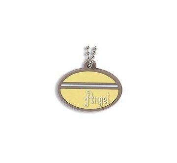 Angel Pure Faith Rubber Pendant Necklace