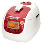 Cuckoo Rice Cooker | CRP-G1015F (Ivory/Red) image