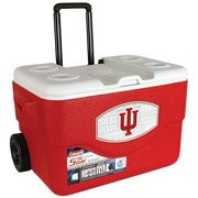 Coleman 50-Quart Xtreme Wheeled Cooler, Official Indiana University Hoosiers Design peter coleman shopping environments