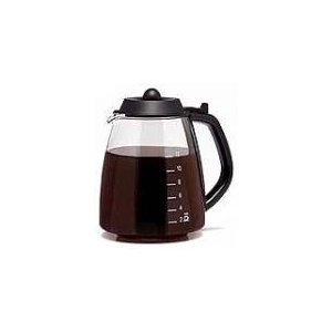 Medelco Gl312bk 12-Cup Universal Replacement Glass Carafe Coffee Maker Replacement Carafes & Decanters