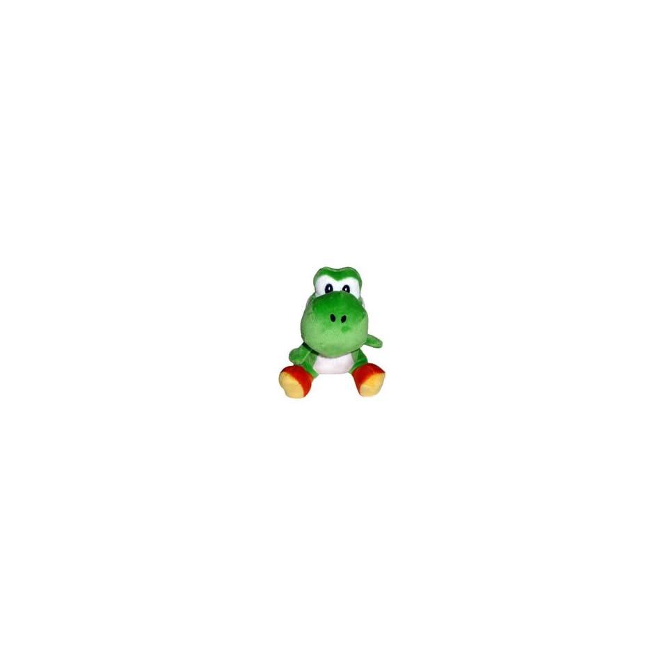Super Mario Bros. Wii Plush   Green Yoshi Toys & Games