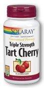 Triple Strength Tart Cherry Solaray 90 Caps