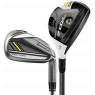 TaylorMade RocketBladez Combo Iron Set (45H, 6-PA) (left, Rocketfuel 65 Graphite, Regular)
