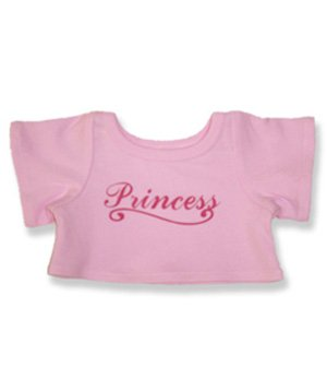 "Princess T-Shirt - 6029 Fits 15"" - 16"" bears, includes Build a Bear, The Bear Mill, and Stuff your own Animals. - 1"