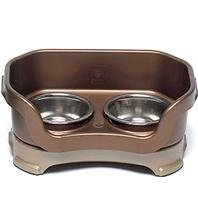 NEATER FEEDER SMALL DOG, Color: BRONZE; Size: SMALL DOG (Catalog Category: Dog:FEEDING ACCESSORIES)