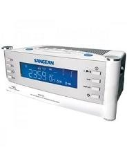Sangean Am/Fm Atomic Clock Radio Adjustable Alarm Buzzer Level Alarm Set Led Indicator