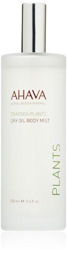 AHAVA Dead Sea Plants Dry Oil Body Mist, 3.4 fl. oz.