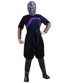 The Last Airbender Child's Deluxe Costume And Mask, Blue Spirit  Costume