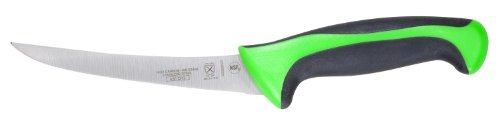 "Mercer Culinary Primary4 6"" Curved Boning Knife, Green"