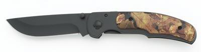 Maxam® Camouflage Handle Liner Lock Knife     Maxam