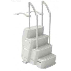 Escalier piscine pas cher for Escalier sur liner pour piscine