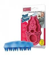 Kong Company DKO51111 Zoom Groom Firm Rubber Dog Brush Boyse
