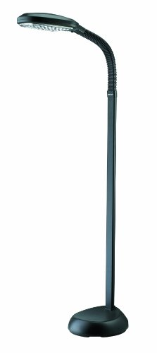 Verilux Original Natural Spectrum Deluxe Floor Lamp, Graphite