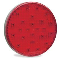 """Grote 53312 4""""Grommet Mount Led(Red) """""""""""