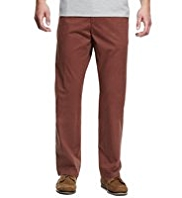 Flat Front Regular Fit Chinos with Stormwear™
