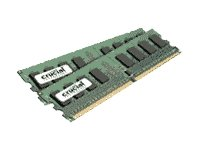 Crucial 4GB Kit (2GBx2) DDR2 (PC2-6400) DIMM 240-Pin Desktop Memory Modules CT2CP25664AA800