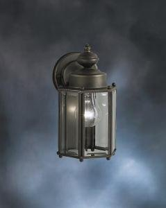 Kichler Lighting 9618OZ Street Outdoor Sconce, Olde Bronze