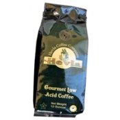 Hevla Low Acid Coffee 2 pack - Gourmet Blend - GROUND- DECAF - 2 x 12 ozB001D1A58M : image