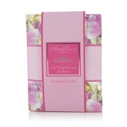 Ashleigh & Buwood The Scented Home Freesia & Orchid (3 X Fragranced Sachets) from Scented Candle Shop