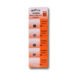 10 Cr927 Lithium Button Cell Batteries, 5-Pcs Card X2