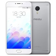Meizu M3 Note Silver 3GB RAM 32 ROM INTERNAZIONALE L681H 4G LTE CARICATORE EUROPA ORIGINALE FIRMWARE MULTILINGUA 13 MP 5 MP Fingerprint Octa Core 5.5