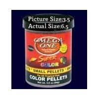 Omega One Floating Super Color Pellets Fish Food 6.5oz