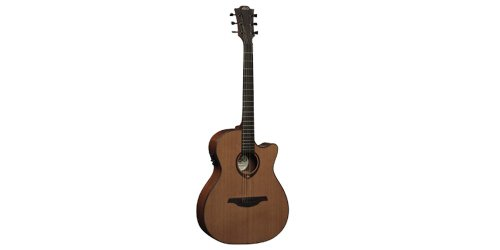 Lag T200Ace Stage Series Auditorium Cutaway Acoustic-Electric Guitar