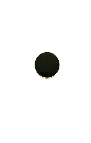 14K Yellow Gold Round Black Onyx and 14K Gold Tie Tac-88256