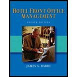 img - for Bardi/Hotel Front Office Management 4th Edition + Kline/Hotel Front Office w/CD & Disk - SET book / textbook / text book