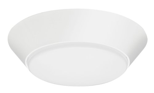 Lithonia Lighting FMML 7 830 WL  7-Inch 3000K LED Small Versi Round Wet Location Flush Mount, White (Wet Location Ceiling Light compare prices)