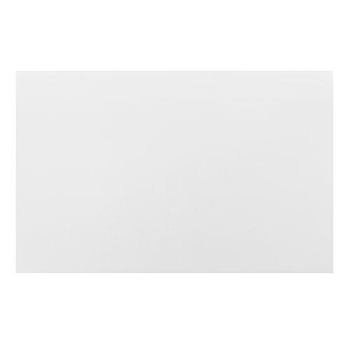 Esstisch Schwarz Matt ~ [encasa] Esstisch weiß matt mit 6 Stühlen schwarz Kunstleder gepolstert 140