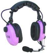 Softcomm Prince Headset C-45-10 with Audio Jack, Purple