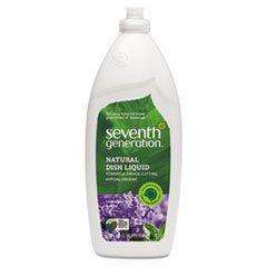 (3 Pack Value Bundle) SEV22734 Natural Dishwashing Liquid, Lavender Floral & Mint, 25 oz. Bottle
