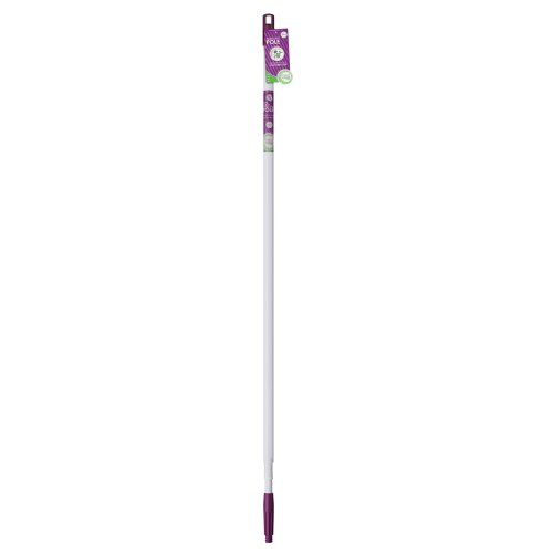 Unger 963630C Neathome Telescopic Pole, 12-Feet, White And Purple