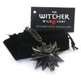 The Witcher 3: Wild Hunt Wolf Pendant in Zinc Alloy by CD Projekt Red
