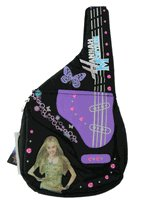 Disney Hannah Montana Sling Backpack - Guitar shaped and insulated purse bag