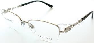 Amazon.com: Bvlgari 2134-B Eyeglasses Color 102 Black ...