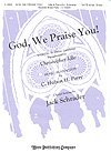 img - for GOD, WE PRAISE YOU - Christopher Idle Parry - Jack Schrader - Choral - Sheet Music book / textbook / text book