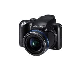 Samsung HZ50W - Digital camera - compact - 14.0 Mpix - optical zoom: 26 x - supported memory: SD, SDHC, MMCplus - black