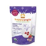 Happy Baby happyyogis Organic Superfoods Yogurt & Fruit Snacks Mixed Berry -- 1 oz