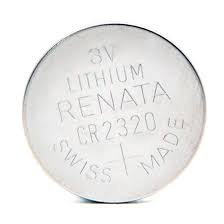 Renata Swiss Made CR2320 3V Lithium Button Coin Cell Battery