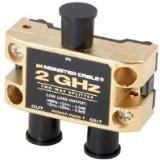 Two Gigahertz Low-Loss RF Splitters for TV and Satellite MKII - 2 Way 2 GigaHertz RF Splitter